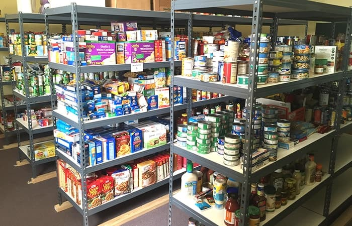 food pantry for preppers