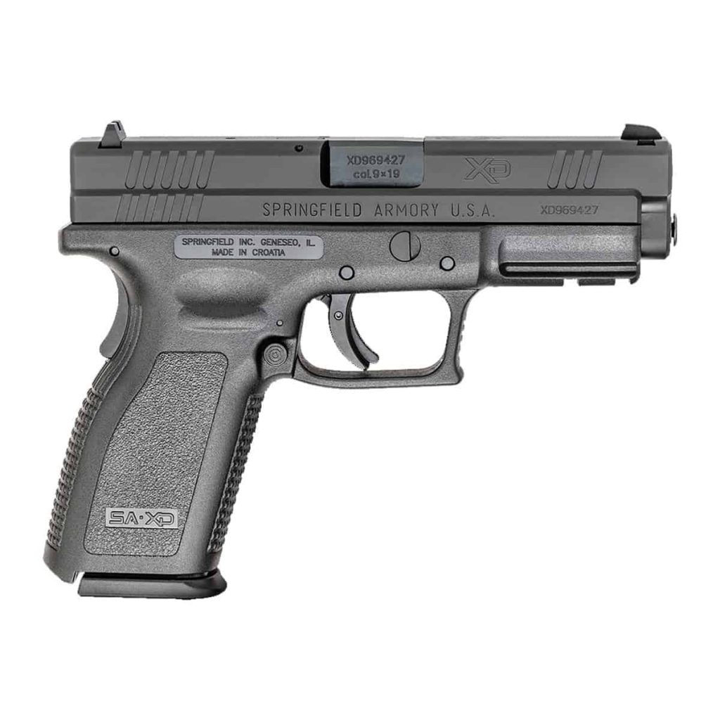Springfield XD 9 best bug out gun preppingplanet.com
