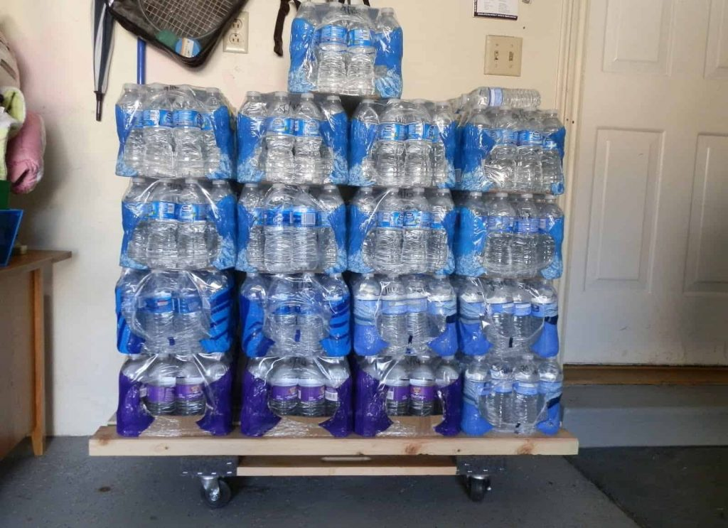 Can you store bottled water in the garage preppingplanet.com