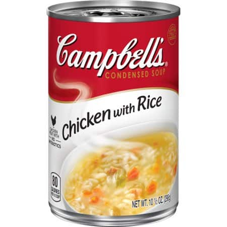 Canned rice