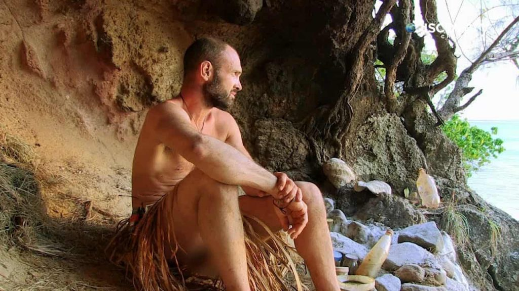 Naked Castaway off grid tv show preppingplanet.com