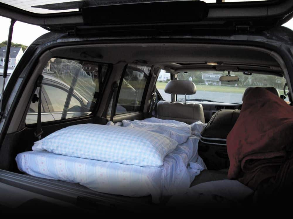 Homeless people living in car preppingplanet.com